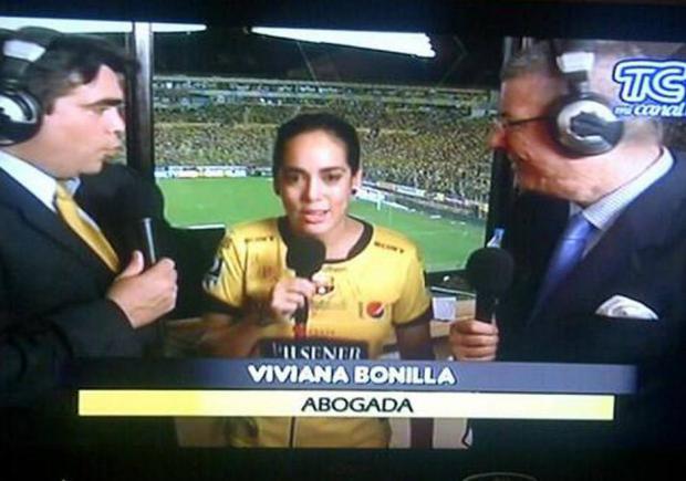 15cdae99b7 Viviana Bonilla pidió a TC que se abra la señal de la Noche Amarilla y el  Twitter estalló