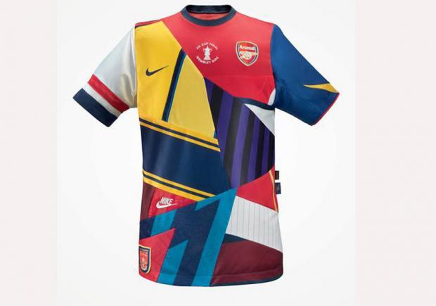 camisetas nike arsenal años