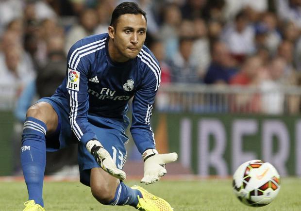 Keylor Navas no será el arquero titular del Real Madrid