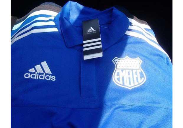 Se filtran algunas camisetas de Emelec bajo la firma Adidas ... d9cf3383469