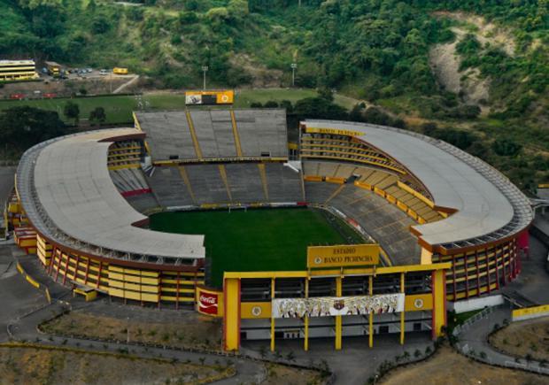 Resultado de imagen para estadio banco pichincha