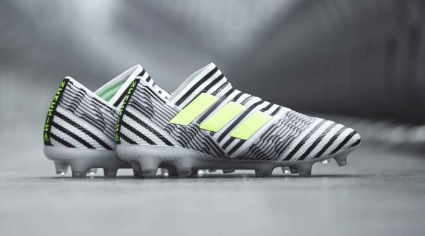 Adidas presentó sus nuevos zapatos Nemezis con un curioso