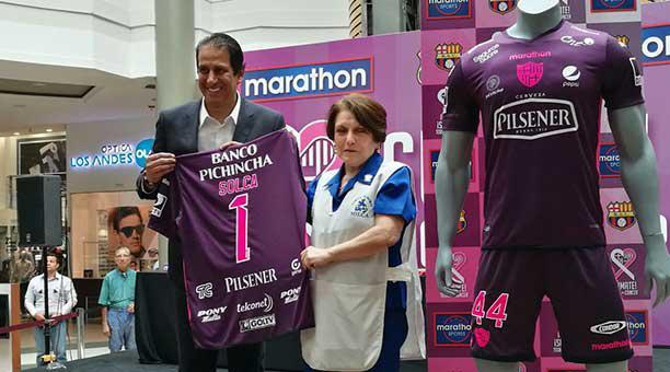 Uniforme de barcelona sc para dream league soccer 2019