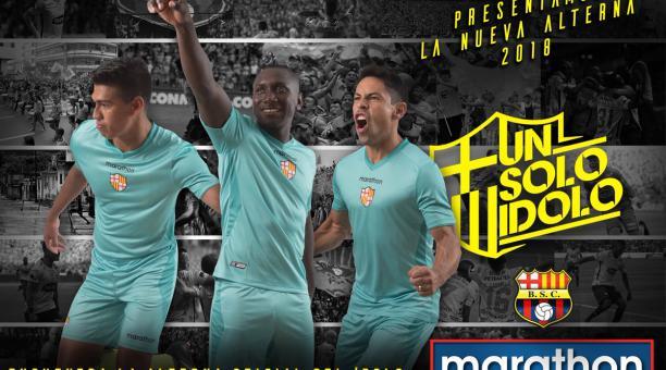 sale retailer c98c6 447ee Barcelona presentó su camiseta alterna para la temporada ...