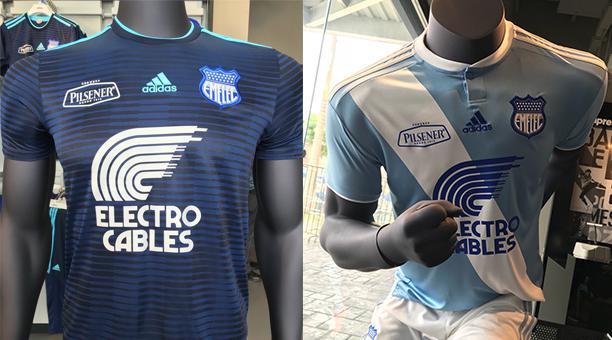 Emelec presentó sus camisetas para la temporada 2018  63302ebf46d