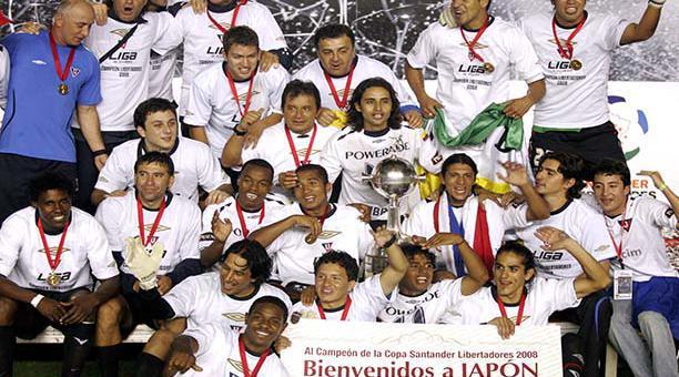 Resultado de imagen para Liga de Quito 2009 copa sudamericana
