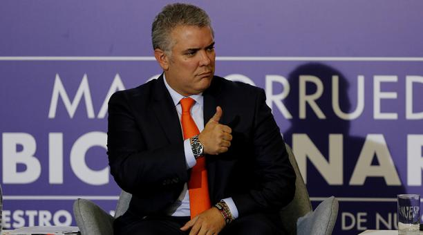 Iván Duque, actual presidente de Colombia