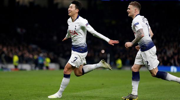 Tottenham ganó al Manchester City en la ida de cuartos de la ...