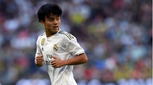 Takefusa Kubo ha destacado en la pretemporada del Real Madrid
