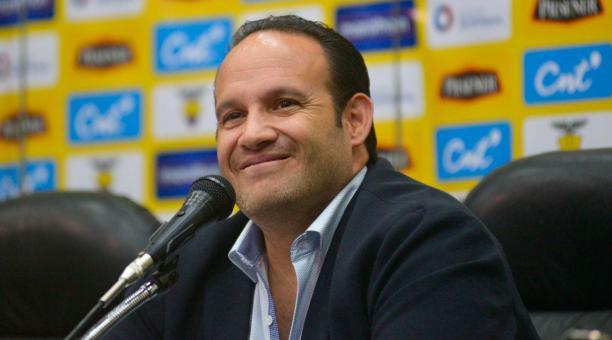 Francisco Egas: 'Para fin de diciembre tendremos el nuevo técnico' |  Bendito Fútbol