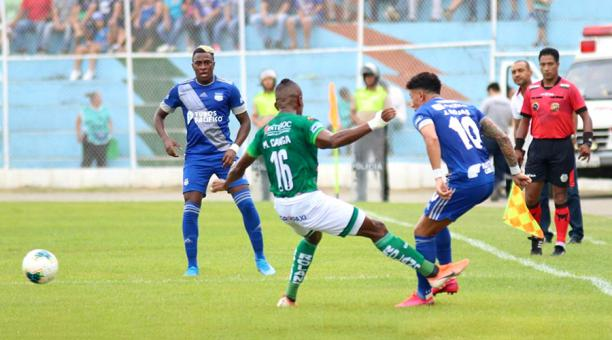 Orense empató 2-2 contra Emelec en Machala, en su debut de la Serie A |  Bendito Fútbol