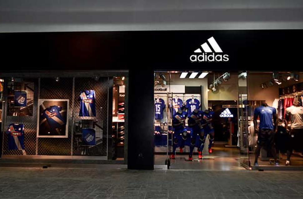 Puno Deflector Palabra  Emelec cuenta con una tienda adidas en el renovado estadio Capwell |  Bendito Fútbol