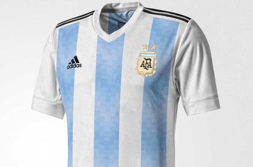 94391088a883f Filtran la posible camiseta de Argentina para el Mundial de Rusia ...