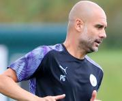 Josep Guardiola, actual entrenador del Manchester City