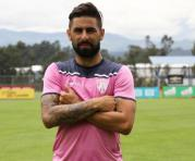 Maximiliano Barreiro, exjugador de Independiente del Valle